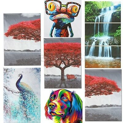 Modern Abstract Unframed Canvas Print Painting Picture Wall Art Hanging Decor uk