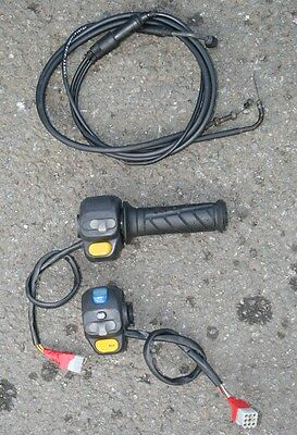 Peugeot Speedfight 2 50 A/c 2002  Left Right Switchgear Switches Throttle Cable