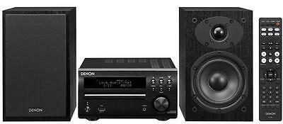 Denon DM40DAB Micro DAB CD FM System Black DM-40DAB inc SCM40 SC-M40 Speakers