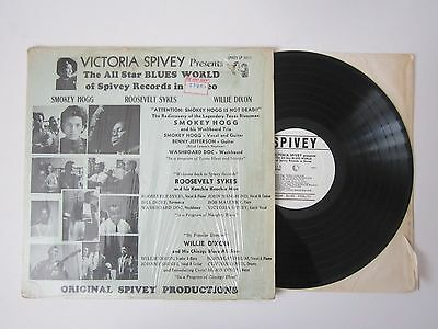 VICTORIA SPIVY presents The All Star BLUES WORLD of Spivey Records in Stereo LP