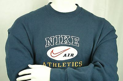 Men's Vintage 80s Nike Air Sweater XL EXTRA LARGE Made in USA 541