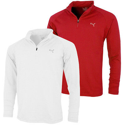 35% OFF RRP Puma Golf 2016 Mens Tech 1/4 Zip Popover Pullover WarmCELL Sweater