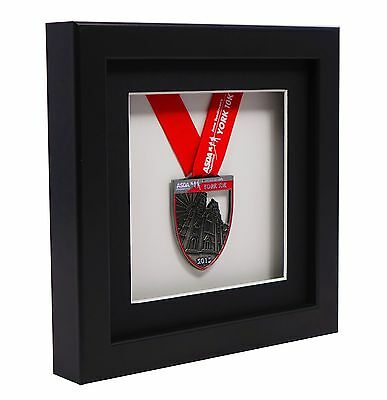 Athena 3D Medal Deep Display Shadow Box Photo Picture Frame