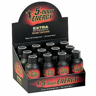 5-Hour Energy Shot, EXTRA Strength BERRY, 1.93 oz, 12 ct