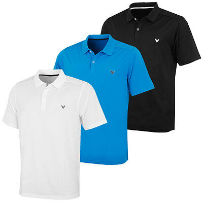 48% OFF RRP Callaway Golf 2017 Mens Performance Opti-Dri Stretch Polo Shirt