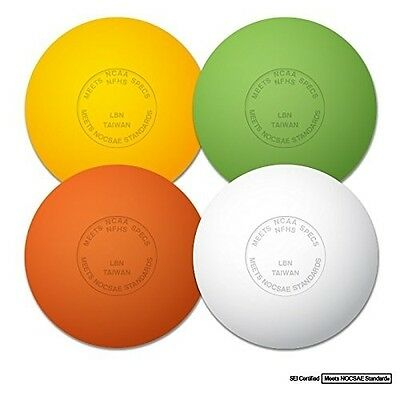 New Champro 2 PACK Official Rubber Lacrosse Ball NFHS NCAA Approved Asstd Colors