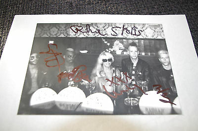 "THE PLASMATICS Wendy O. Williams signed 4x6"" Photo + Live Photos InPerson SCARCE"