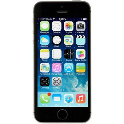 Apple iPhone 5S - 16GB - Gray - Factory Unlocked; AT&T / T-Mobile / Global