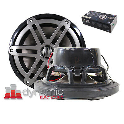 "JL AUDIO M770-CCX-SG-TB 7.7"" Marine Boat Cockpit Coaxial Speakers 200 Watts USED"