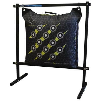 NEW Rinehart 18740 Flexible and Durable Hanging Bag Stand in Black Color