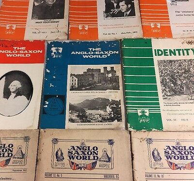 Vintage Publications, Anglo Saxon World & Identity, July 1950 - July Aug 1973