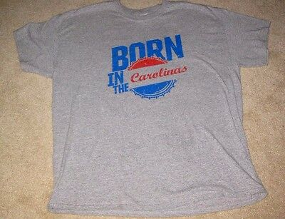 vintge PEPSI COLA SODA POP  BORN IN CAROLINAS T SHIRT  XL EXTRA LARGE