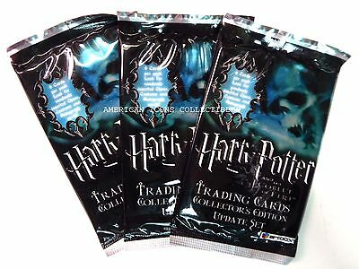 Harry Potter Goblet of Fire 3 Packs Trading Cards Update Set New from 2006