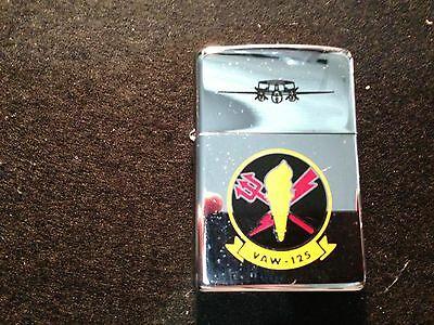 Zippo Lighter VAW-125 Carrier Airborne Early Warning Squadron - US NAVY 2002