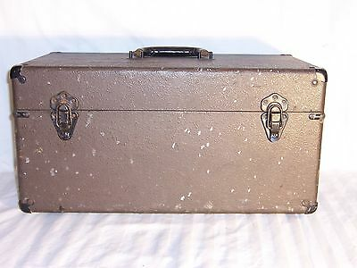 vintage antique BELL HOWELL case 1920s box chest military tool camera