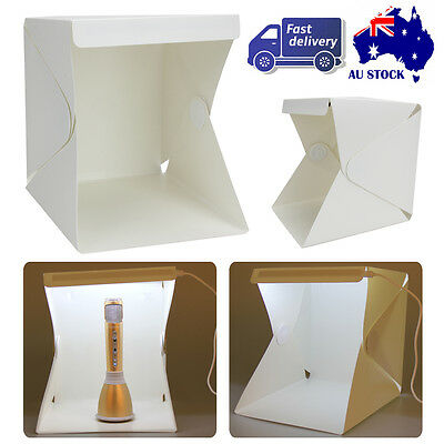 Light Room Portable Mini Photo Studio Photography Cube Box Tent Kit 2 Backdrop