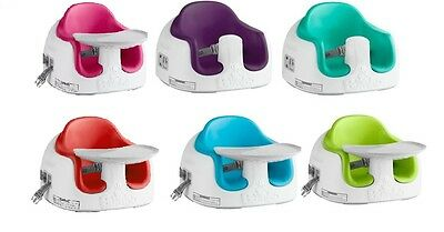 Bumbo Multi Seat with Tray Adjustable Booster Feeder Seat from 6-36 months Bumbo