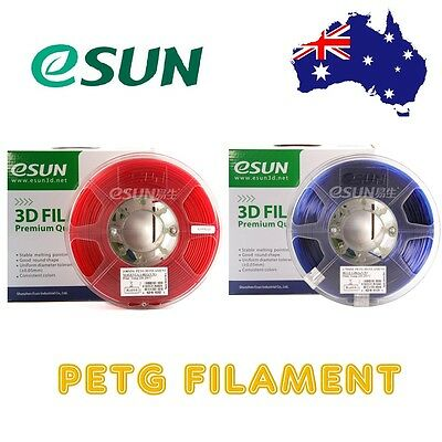eSUN PETG 3D Printer Filament 1kg roll 1.75mm & 2.85mm Free Shipping