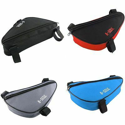 Outdoor Cycling Bike Frame Bag Tube Bicycle Triangle Bags Cycle Luggage Storage