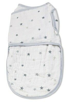 aden + anais Double-Layer Easy Swaddle (Twinkle Tiny Star)
