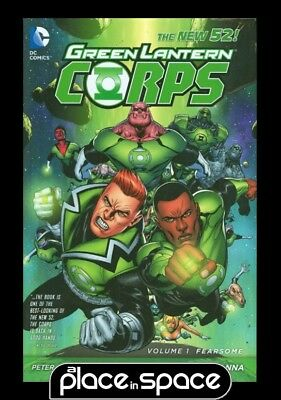 Green Lantern Corps Vol 01 Fearsome - Hardcover