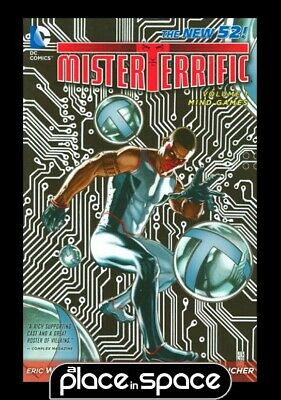 Mister Terrific Vol 01 Mind Games - Softcover