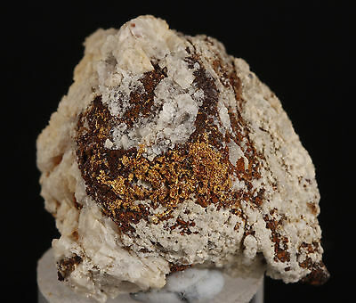 Gold in Quartz from Washoke M.D, Pershing Co. Nevada.  Nugget specimen