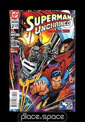 Superman Unchained # 2 - Cover E (1:25) Reborn Age - Scott Snyder / Jim Lee