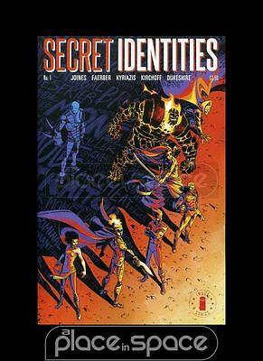 Secret Identities #1B - Image Logo Variant