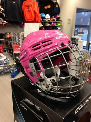 Bauer IMS 5.0 helmet combo medium pink NEW!!!