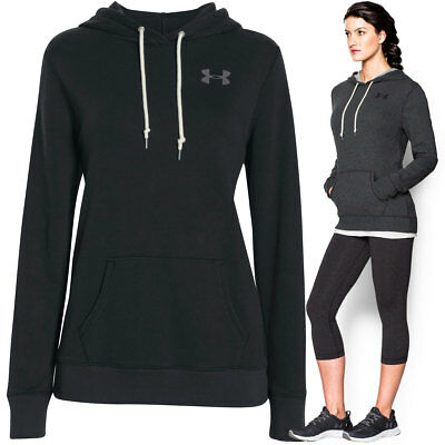 Under Armour 2016 Womens UA Favorite French Terry Popover Hooded Pullover Hoody