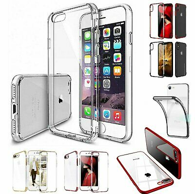 For Apple iPhone 7 / 8 Plus Case Shockproof Silicone TPU Bumper Cover