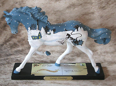 TRAIL OF PAINTED PONIES Vintage Greetings~Low 1E/0224~Christmas Traditions~