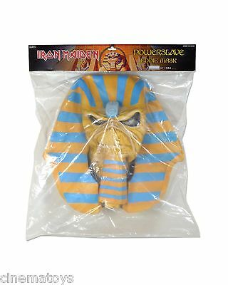 IRON MAIDEN Powerslave Latex Mask 30th Anniversary Edition Neca Mask Whole