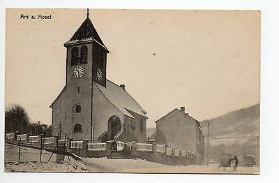 ARS SUR MOSELLE Moselle CPA 57 eglise hiver neige