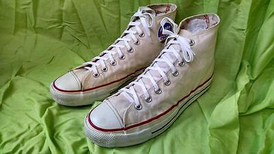 Made In Usa Very Rare Bata Bullets. Pacifate Protected 1950's White Size 10.5