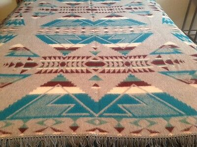 Vintage Oregon City Woolen Mills blanket circa 1927