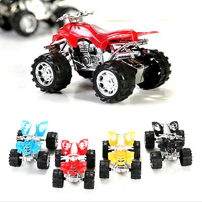 Pull Back Car Beach Four-wheel Motorcycle Model Baby Kids Children Toys JXUS