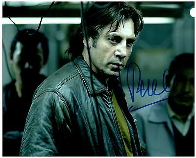 """Javier Bardem """"No Country for Old Men"""" Signed Autographed 8x10 Pic. A"""