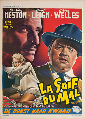 Touch of Evil 1958 Belgian Poster