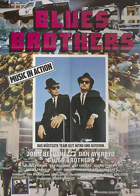 The Blues Brothers 1980 German A1 Poster