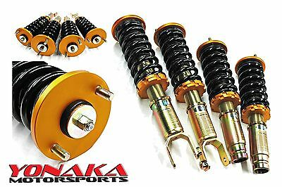 Yonaka Full Coilovers EF Civic CRX 88-91 Shocks Struts Springs Suspension Kit