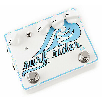 SolidGoldFX Surf Rider III Reverb Pedal Custom Shop Solid Gold FX