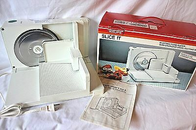 KRUPS 213o-70 SLICE IT Electric Cheese Deli Food Slicer Stainless Steel Blade