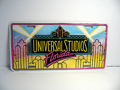 New Universal studios Florida USA License plate aluminum Show car 12 x 6 inch