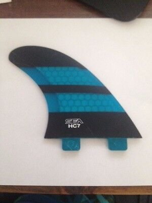 HC7 Compatable FCS  fins. Replacement  NEW $20