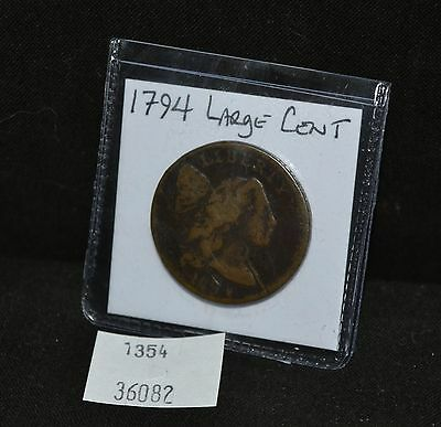West Point Coins ~ 1794 Large Cent Full Date Flowing Hair