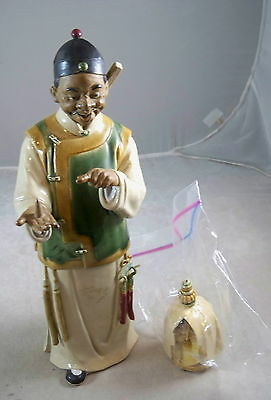 China Chinese Chinaramics Limited Figure Glazed Pottery - Made in 1990's