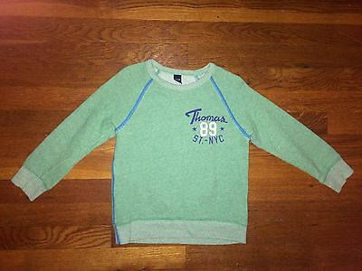 Baby GAP Green Marbled Boys Lightweight sweater Size 4T