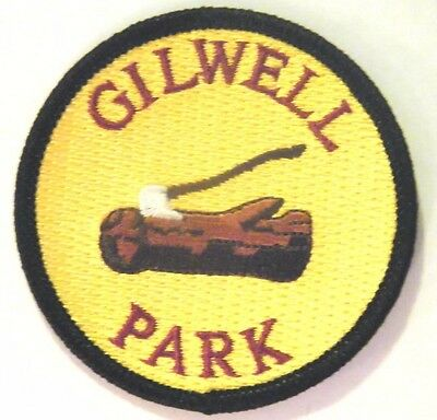 "Gilwell Park ""Log & Axe"" Scout Badge, England, UK, World Training Centre"